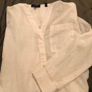 Theory White Shirt